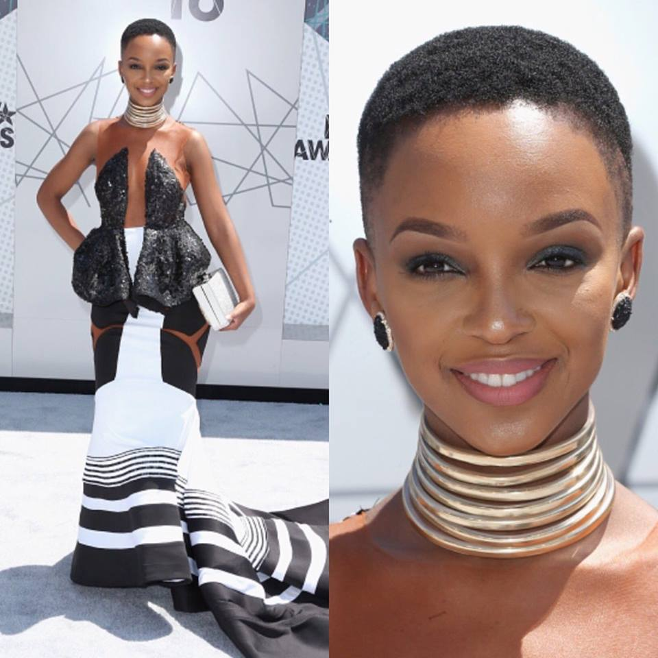 78a43859022 What to wear to a traditional African wedding Nandi Madida in a reworked traditional  Xhosa dress