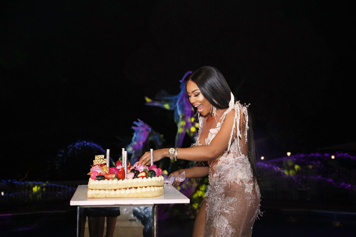 Bonangs Birthday Cake Reveal Was Presented By A Spectacle Of Fireworks