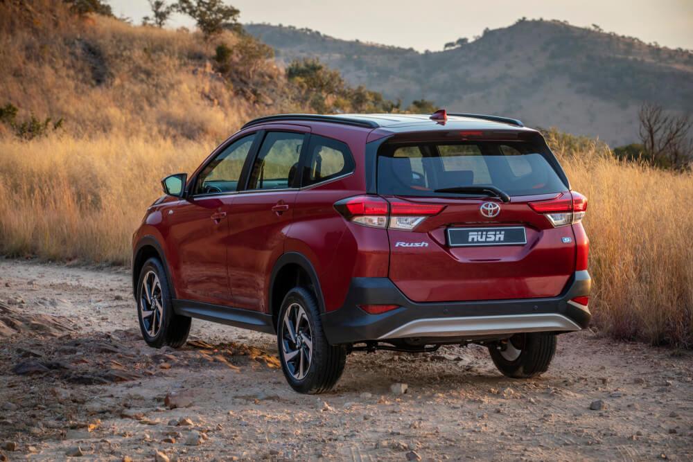 New Toyota rush, rush squad, New Toyota SUV, New Toyota Avanza 2018, Kaya FM Motoring, Mxolisi Mhlongo Kaya FM,