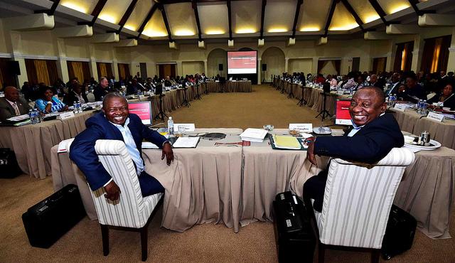 Alleged plot against Cyril Ramaphosa, A scramble to explain secret meeting