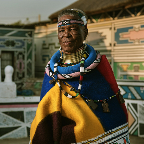 esther mahlangu artist, esther mahlangu,