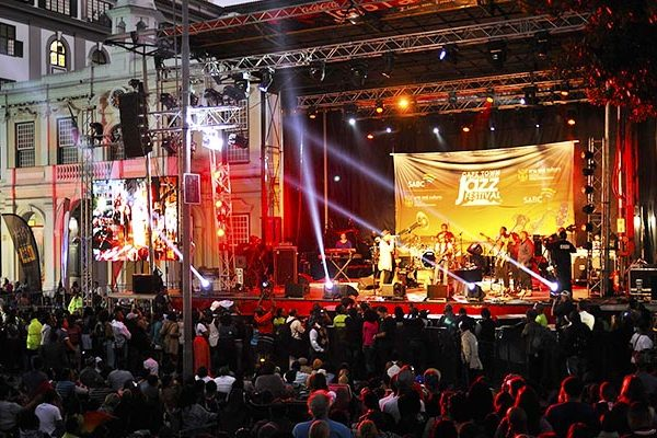 Cape Town International Jazz Festival Free Concert Greenmarket Square