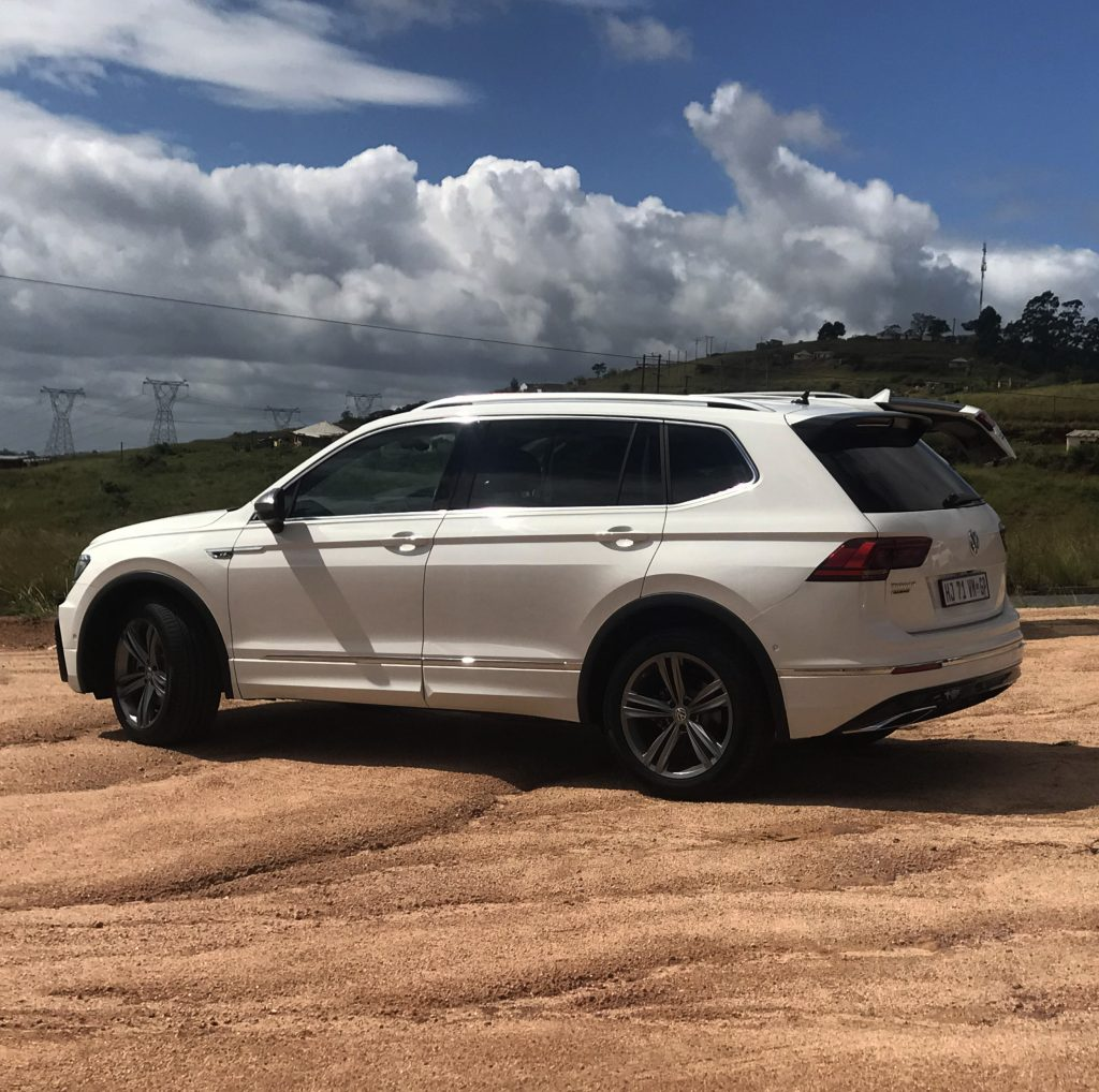 Allspace, Tiguan laugh, VW South Africa, Tiguan review, Mxolisi Mhlongo