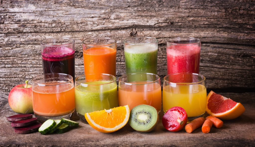 Juicing as a detox option