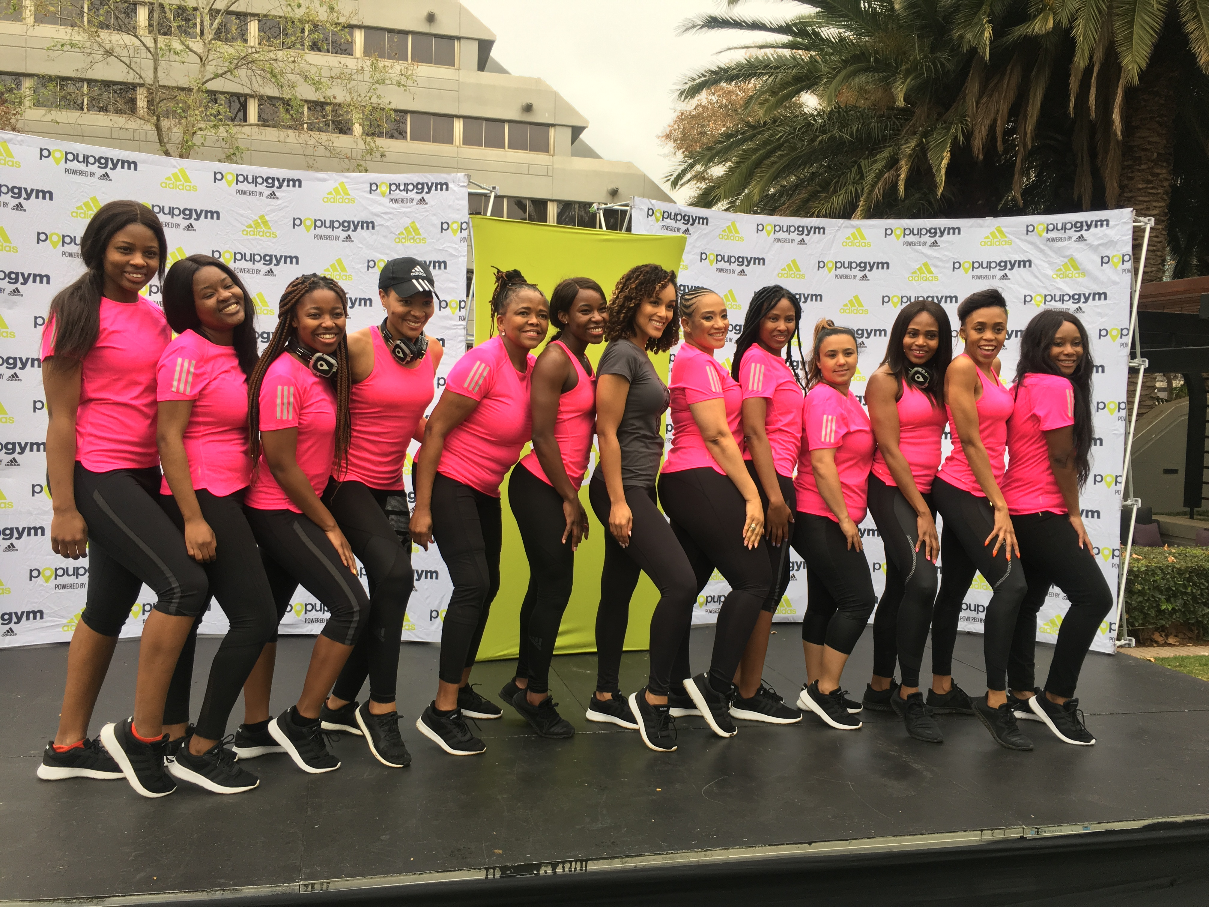 IN PICTURES: Women's Day Pop up gym