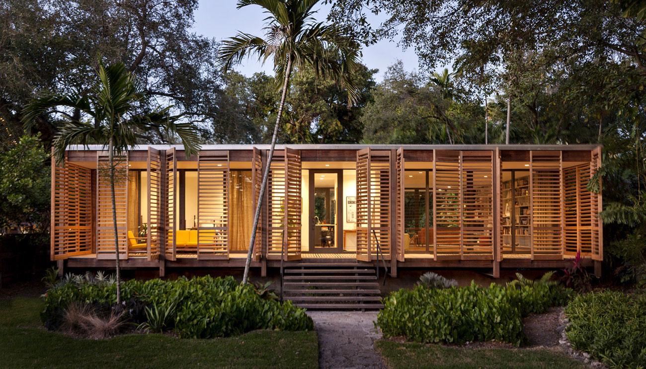 Build a futuristic home through alternative building material