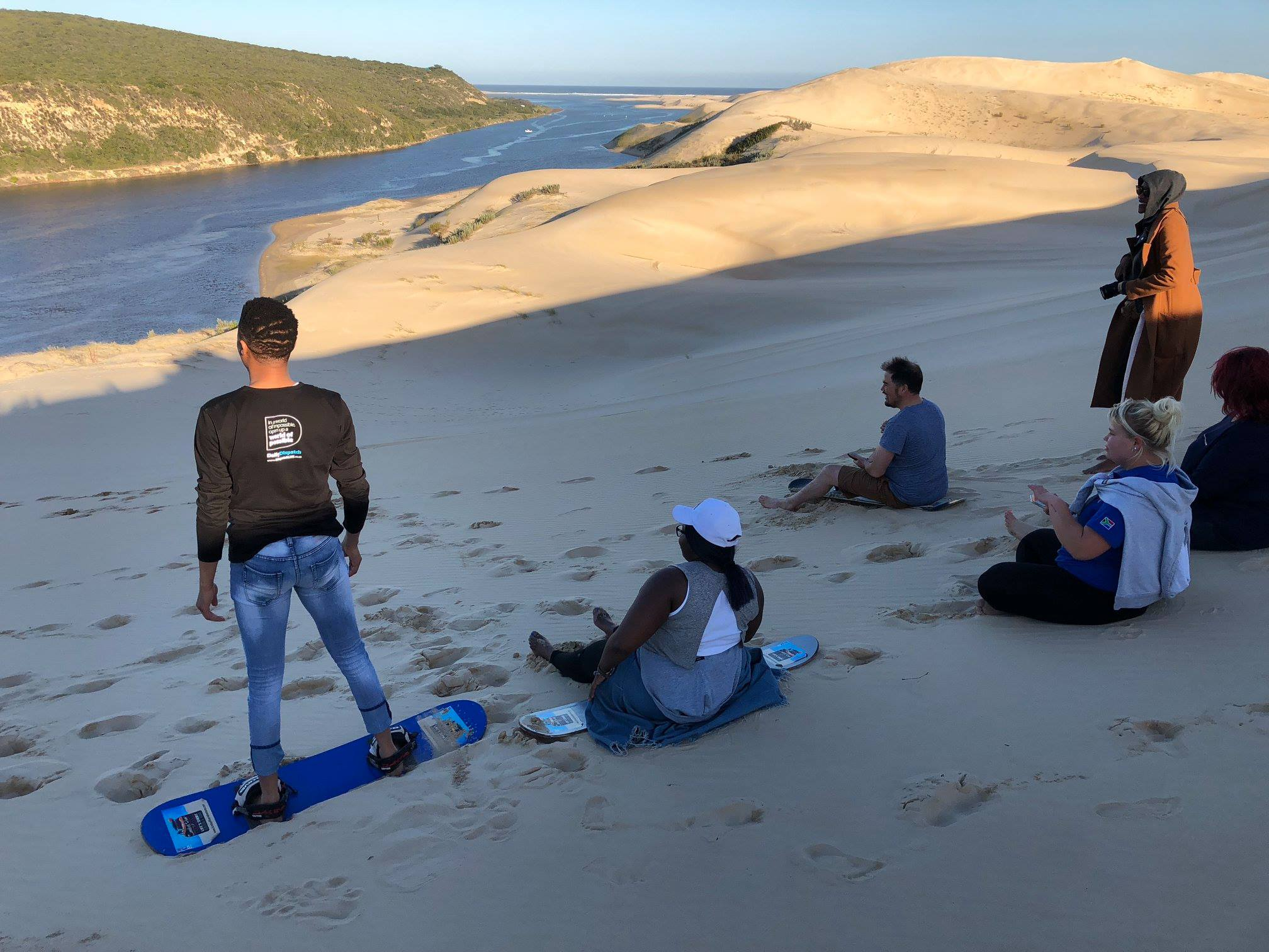 adventure in the eastern cape, dunes in south africa, sandboarding in south africa