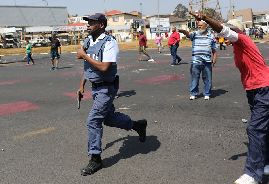Victim surveys show that crime in South Africa may be dropping, yet fear is rising
