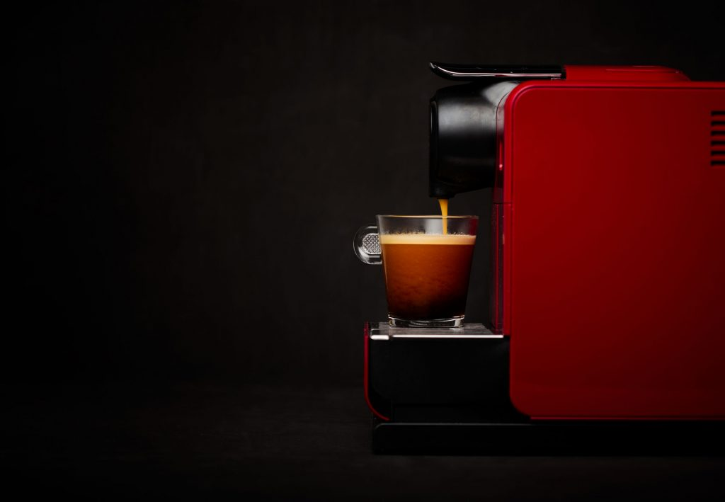 Coffee machine Christmas gift