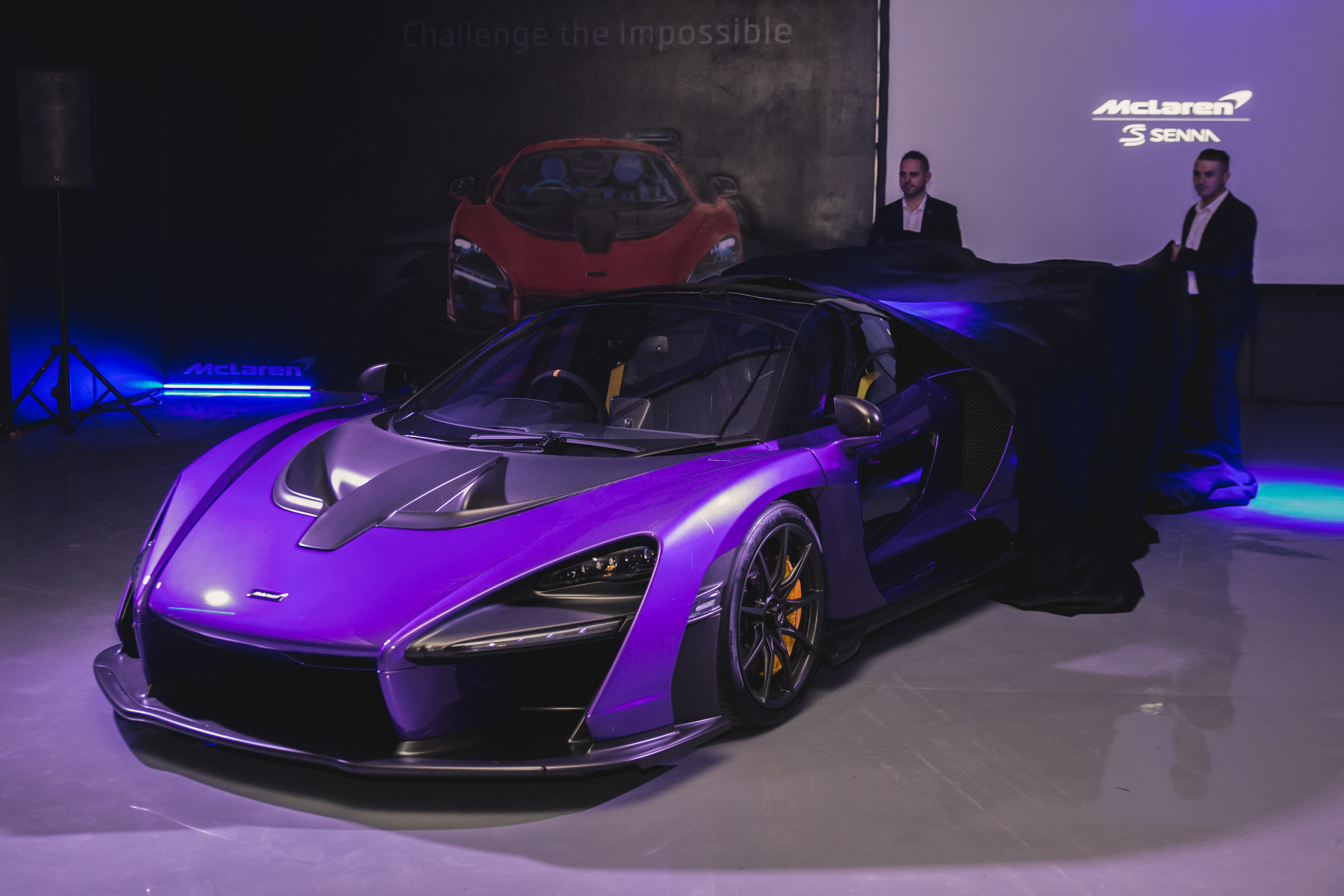 McLaren Senna launch