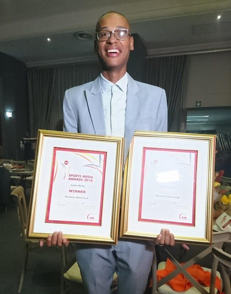 mosibodi whitehead, sab sports media awards, kaya fm sport,