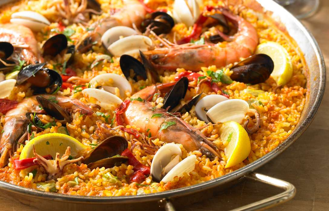 Sunday Lunch: Seafood Paella
