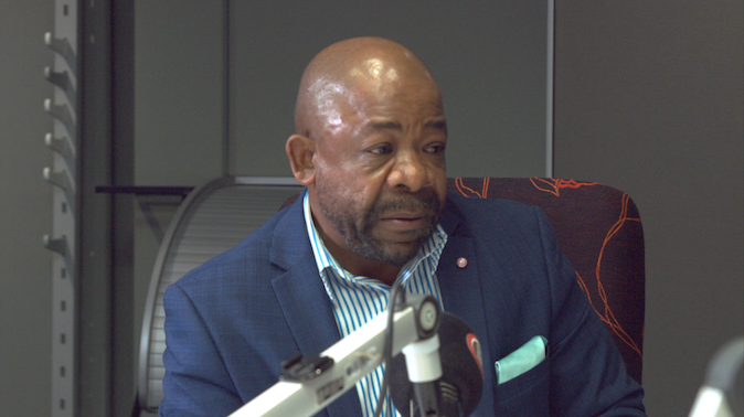 A Song, A Book and A Dish with Electoral Commission V.C. Mr. Terry Tselane