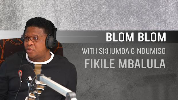 2019 Election – Blom Blom with Fikile Mbalula