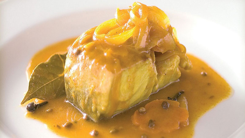Curried Pickled Fish Recipe