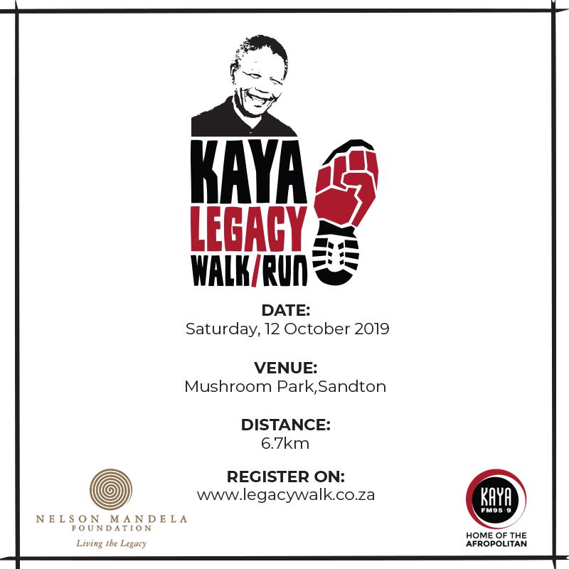 Kaya Legacy Walk / Run 6.7KM – 2019