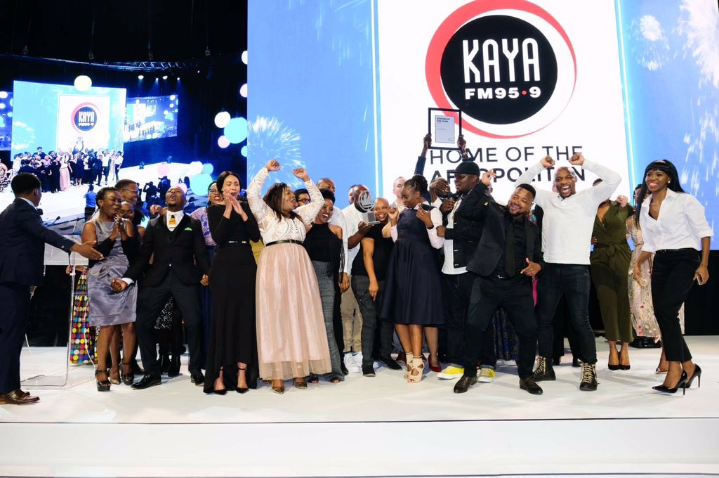 kaya fm liberty awards, station of the year, kaya fm awards