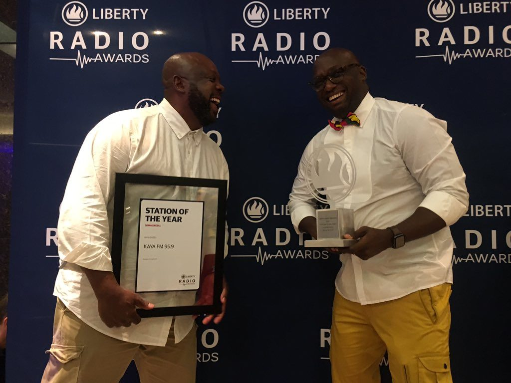 kaya fm liberty awards, station of the year liberty radio awards, kaya fm awards, greg maloka,