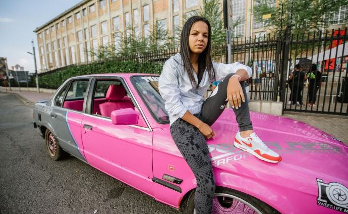 Spinning Queen Stacey-lee May and her need for speed