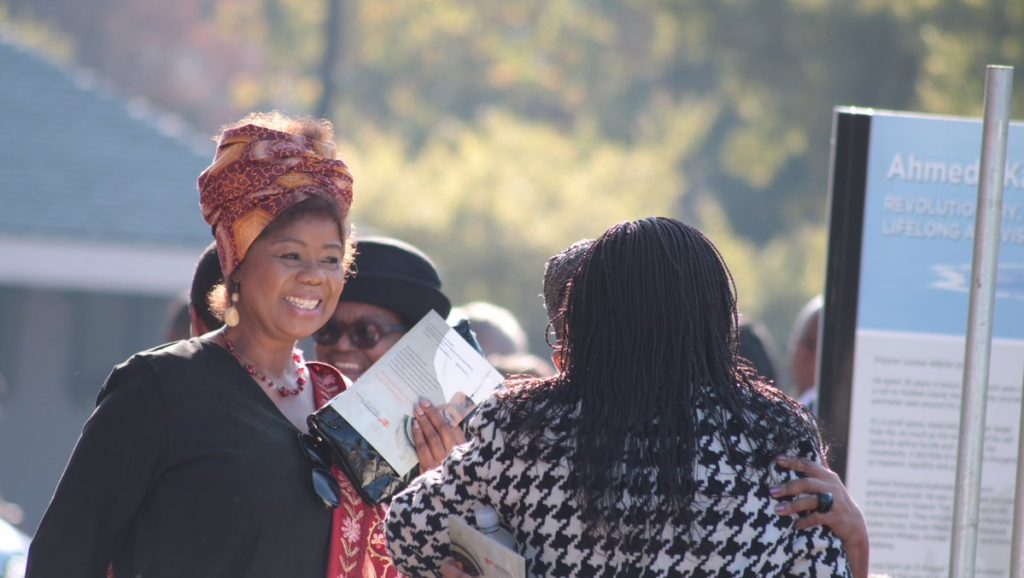 Thembi Mtshali, Hugh Masekela Memorial