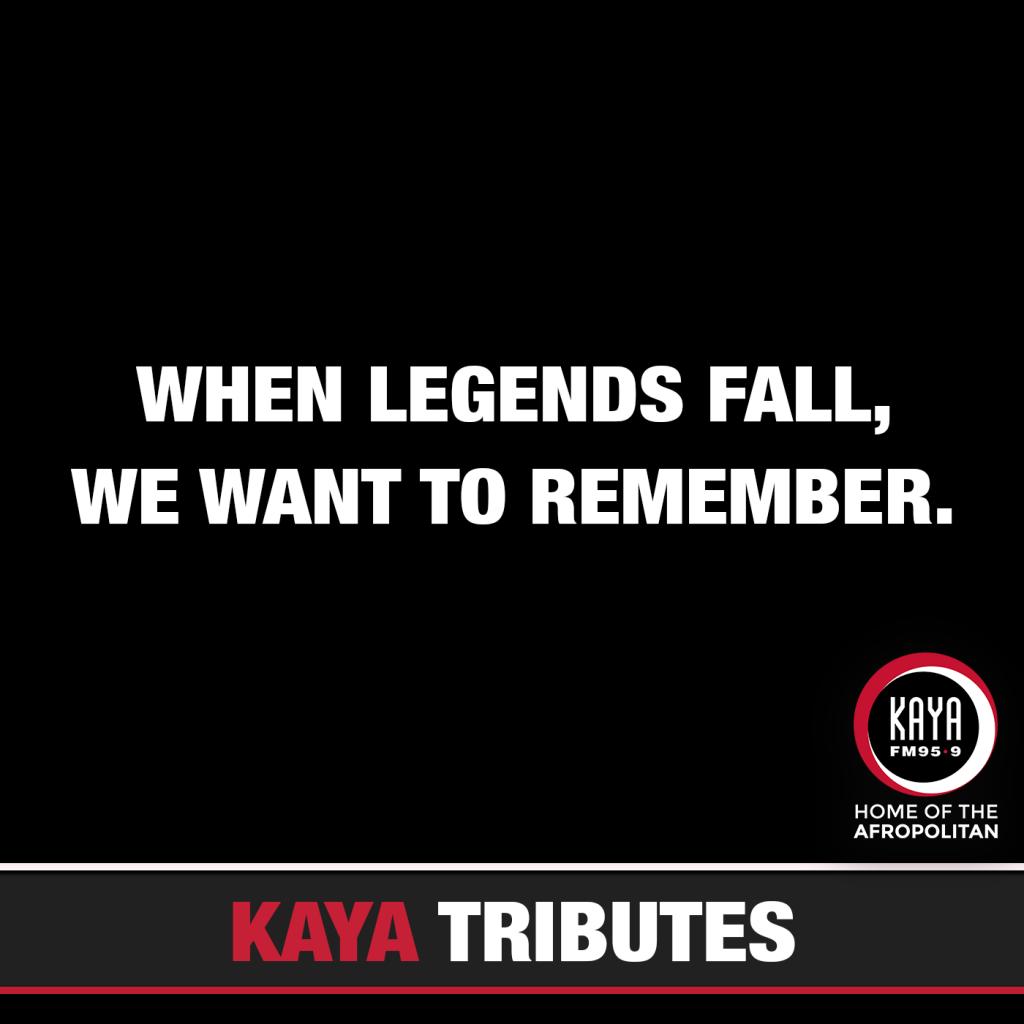kaya fm legend tributes