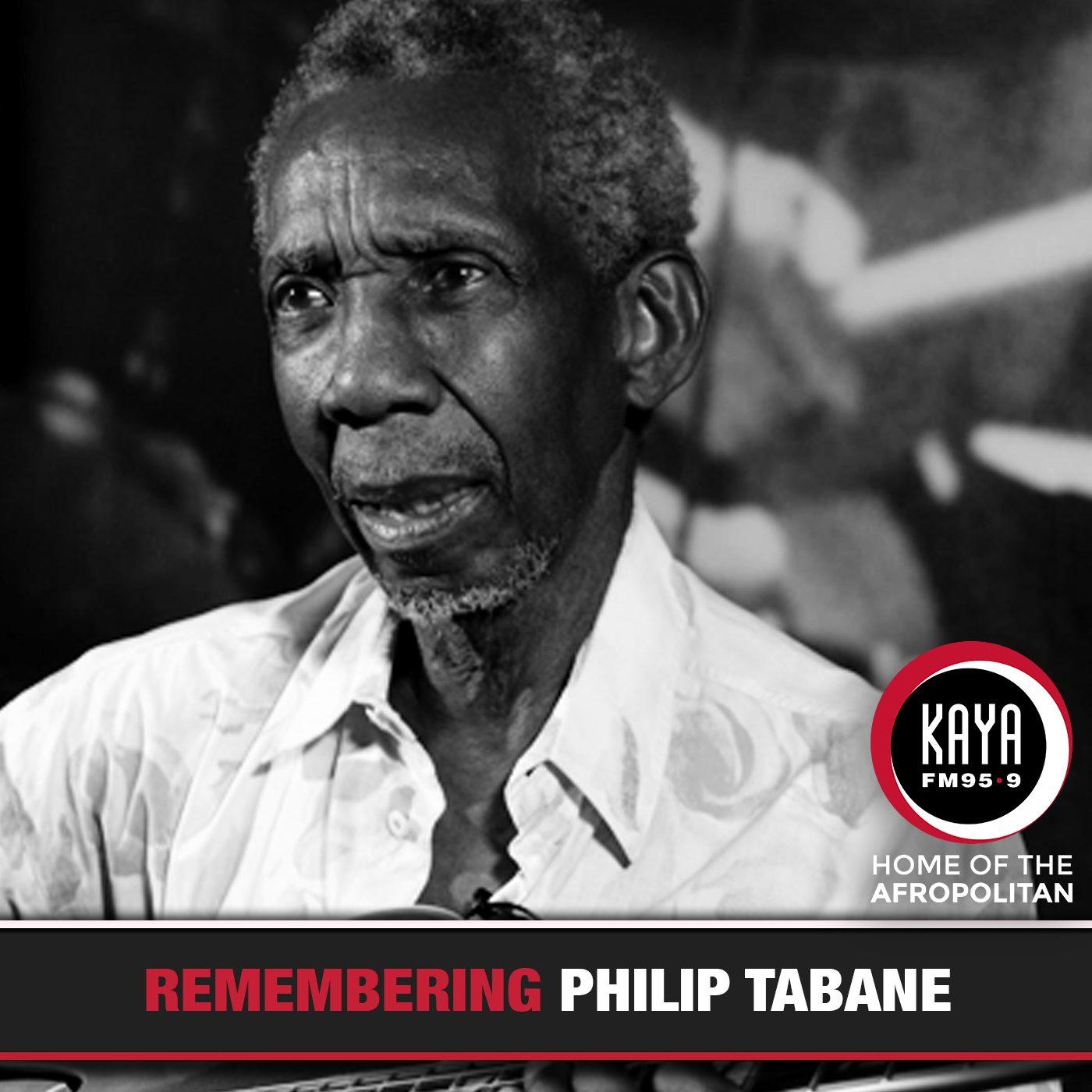 kaya fm legend tributes, kaya fm philip tabane tribute,