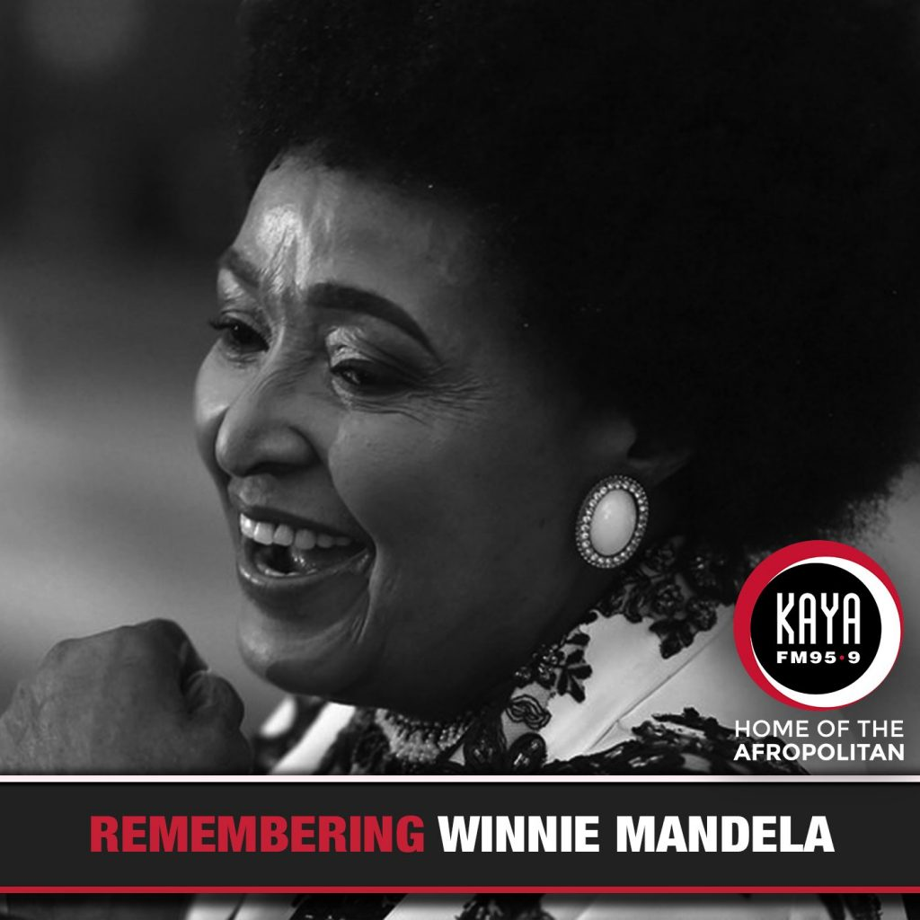kaya fm legend tributes, winnie mandela kaya fm tribute,