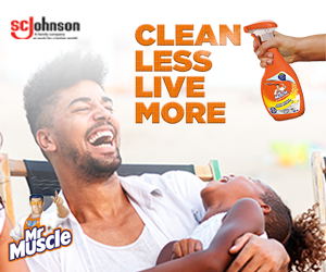 Mr Muscle: Clean Less Dream More Competition