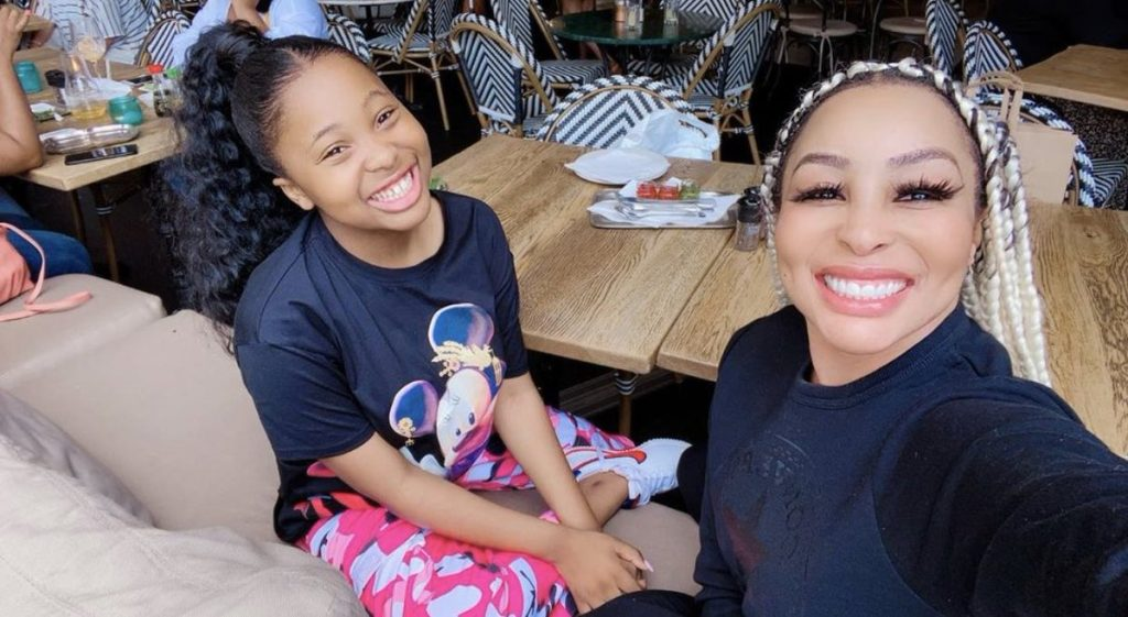 khanyi mbau, khanyi mbau daughter