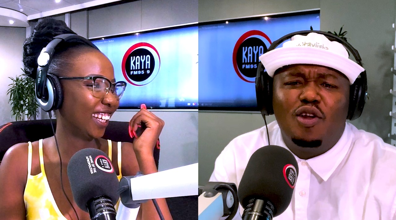 Mbali's new boyfriend is the topic of conversation