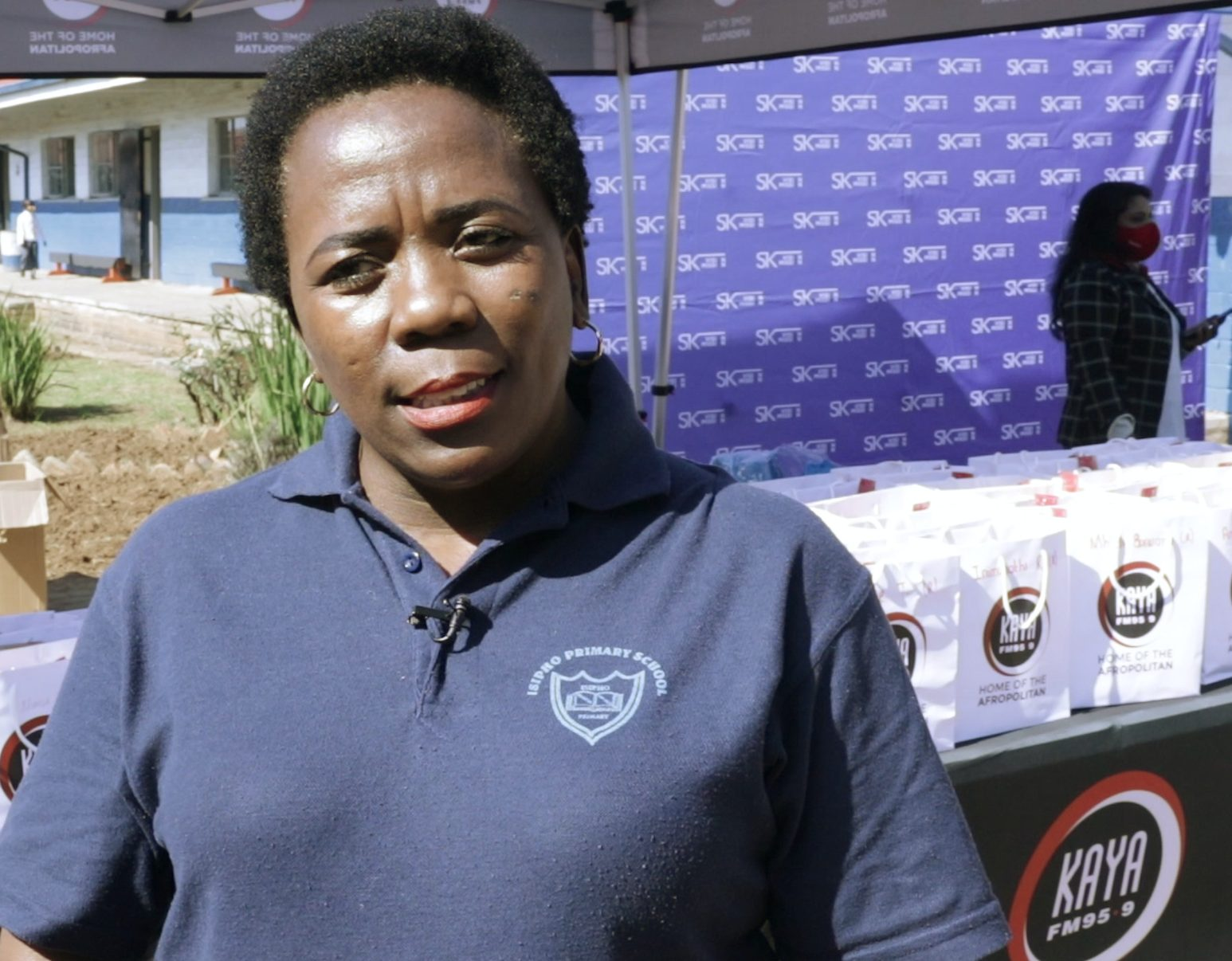 Kaya Cares made sure Isipho Primary kicked off 2021 with essentials
