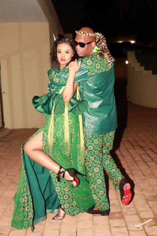 Babes Wodumo and Mampintsha,