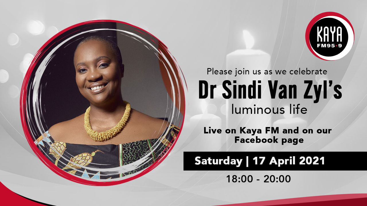 Join us for a virtual memorial service for Dr. Sindi van Zyl