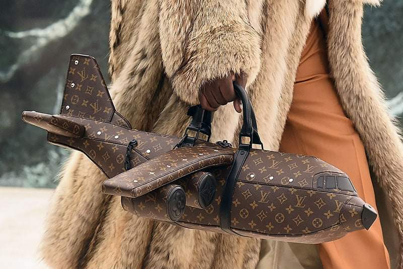 R 558k Louis Vuitton aeroplane bag has Mzansi shook