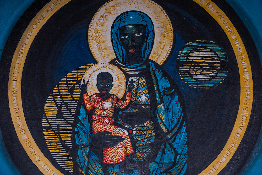 South African masterpiece 'Black Madonna' in Soweto goes on auction