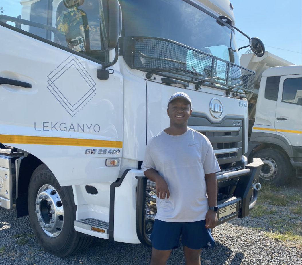 Shimza launches a truck company named after daughter Lekganyo