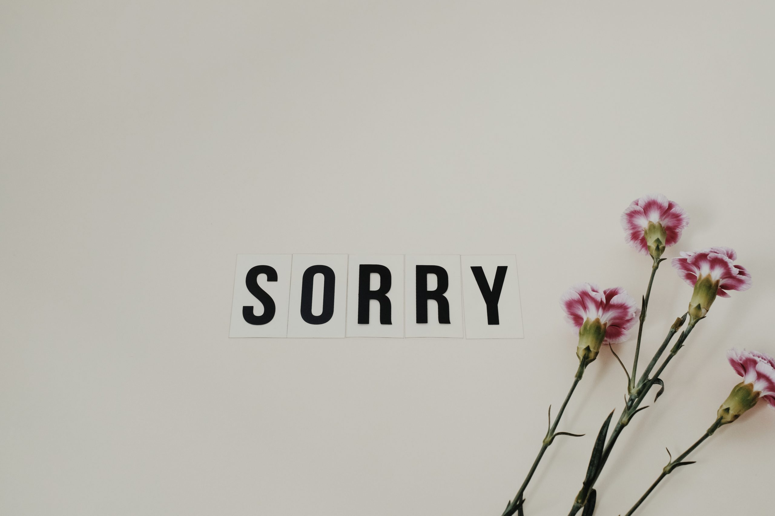 Are you expecting an apology from someone , Are you expecting an apology from someone